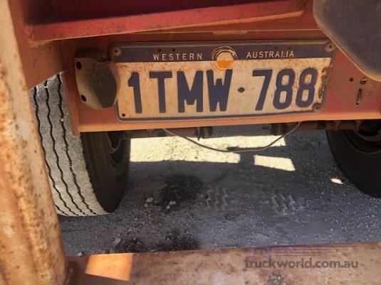 1987 Custom Flat Top Trailer - Truckworld.com.au - Trailers for Sale