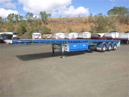 2012 Cimc FLAT TOP - Trailers for Sale