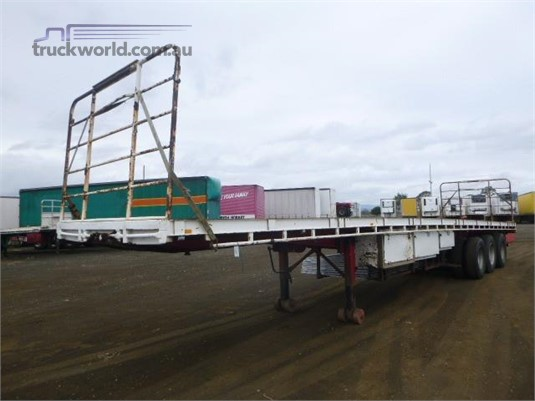 Freighter Flat Top Trailer Western Traders 87 - Trailers for Sale