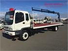 2007 Isuzu FTR 900 Crane Truck