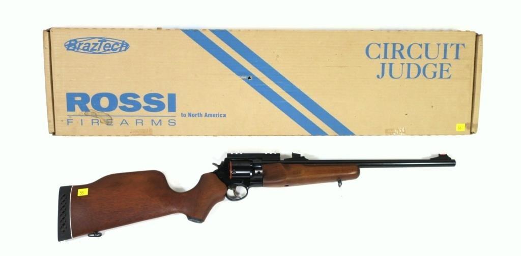 Rossi Circuit Judge  44 Mag revolving rifle, 18 5