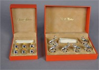 TWO ST. HILAIRE BOXED SETS OF PLACE CARD HOLDERS