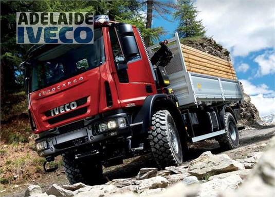 Iveco Eurocargo ML150 4x4 Sleeper-Cab