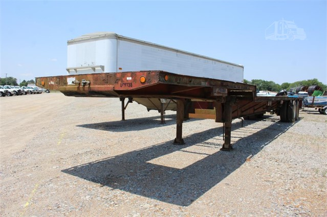 Step Deck Trailer >> 1995 Custom Built T A Step Deck Trailer For Sale In Wynne Arkansas