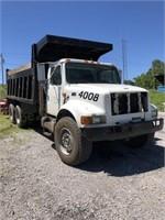 1998 Int. 4900 DT 466E Dump Truck 193,991 Miles