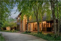 Lush 23-Acre Gated Estate with Elegant 7000+ sf Residence