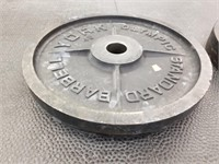 Pair of York 45 lbs. Barbell Plates