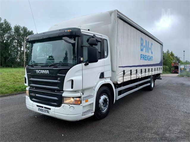 2005 SCANIA P230 For Sale In Stoke-On-Trent, England United Kingdom