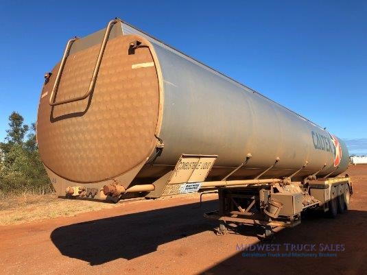 2007 Marshall Lethlean Fuel Tanker Midwest Truck Sales - Trailers for Sale