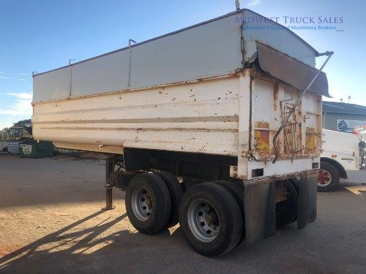 1979 Howard Porter Tipper Trailer Midwest Truck Sales - Trailers for Sale