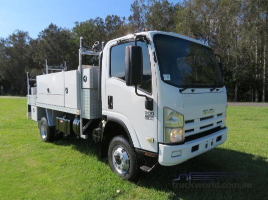 2011 Isuzu NPS 300 4x4 Trucks for Sale