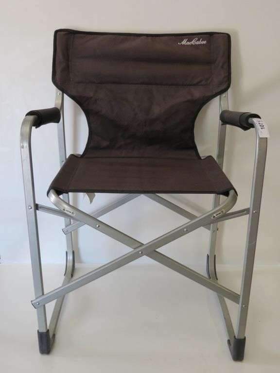 Awe Inspiring Maccabee Folding Camp Chair Idaho Auction Barn Caraccident5 Cool Chair Designs And Ideas Caraccident5Info