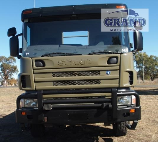 2002 Scania P114 Grand Motor Group - Trucks for Sale