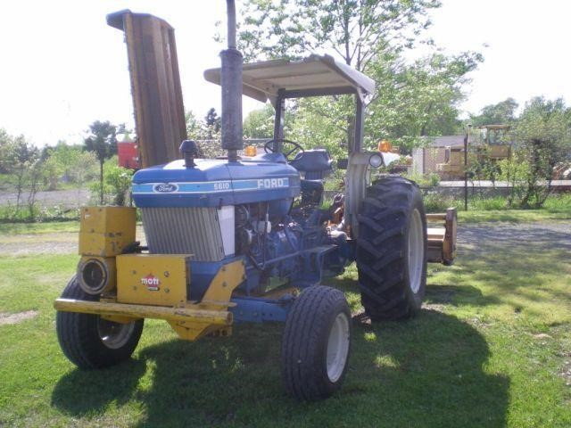 FORD 5610 TRACTOR W/ 91