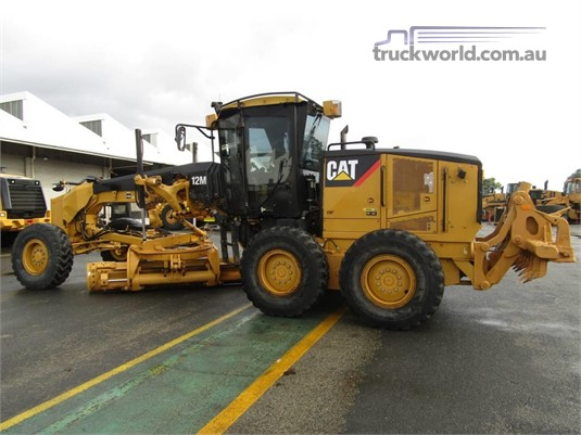 2012 Caterpillar 12M - Truckworld.com.au - Heavy Machinery for Sale