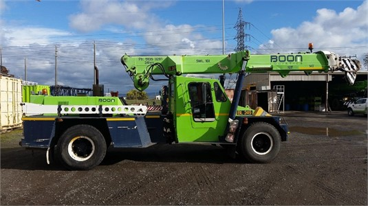 Ppm C1180 All Terrain Cranes - Sales in New South Wales