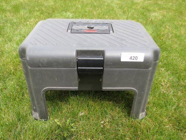 Wondrous Rubbermaid Step Stool Tool Box Musser Bros Inc Inzonedesignstudio Interior Chair Design Inzonedesignstudiocom