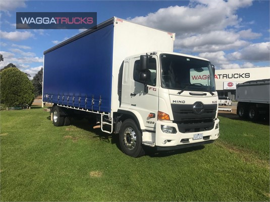 2017 Hino 500 Series 1628 FG Wagga Trucks - Trucks for Sale