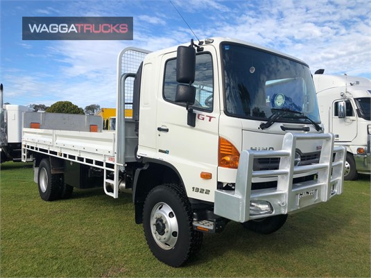 2012 Hino 500 Series 1322 GT 4x4 Wagga Trucks - Trucks for Sale