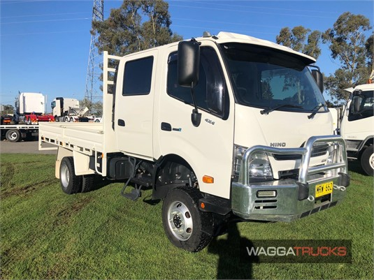 2018 Hino 300 Series 817 4x4 Wagga Trucks - Trucks for Sale