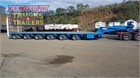 1997 Drake Low Loader Platform Low Loader Trailers