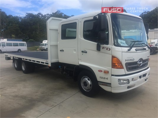 2010 Hino 500 Series 1024 FD Taree Truck Centre - Trucks for Sale