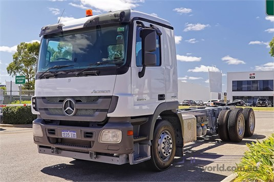 2014 Mercedes Benz Actros 2644 WA Hino - Trucks for Sale