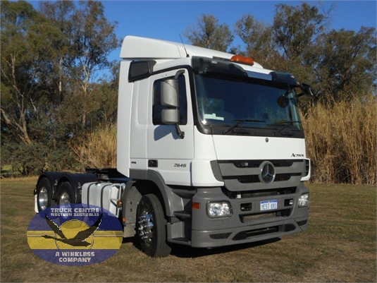 2015 Mercedes Benz Actros 2646 Truck Centre WA - Trucks for Sale