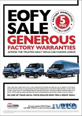 2017 Iveco Daily 35s13a8v9 Iveco Trucks Sales - Light Commercial for Sale