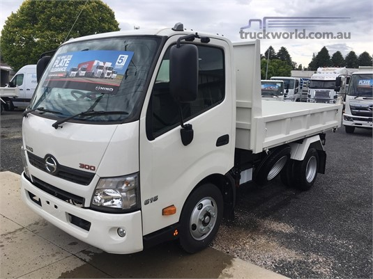 2018 Hino 300 Series 616 Auto Tipper West Orange Motors - Trucks for Sale