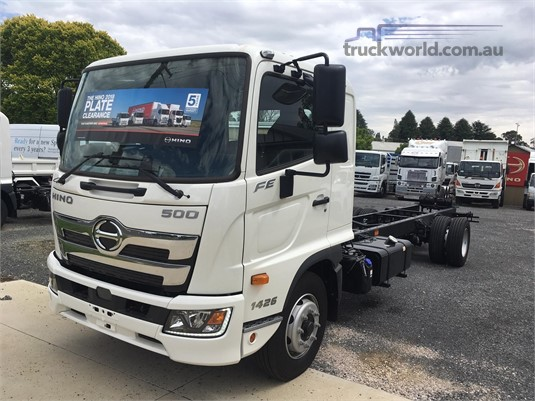 2018 Hino 500 Series 1426 FE West Orange Motors - Trucks for Sale