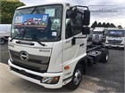 2018 Hino 500 Series 1124 FC Cab Chassis