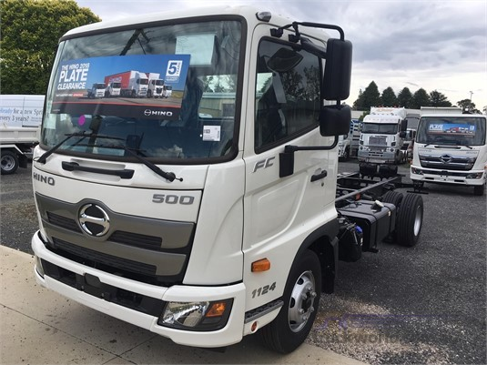 2018 Hino 500 Series 1124 FC West Orange Motors - Trucks for Sale