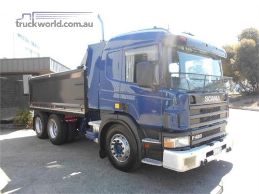 2005 Scania P420 Trucks for Sale
