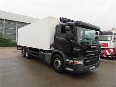 Used SCANIA P280 Refrigerated Trucks for sale in the United Kingdom