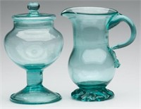 Sample of Strathmann collection of free-blown wares.