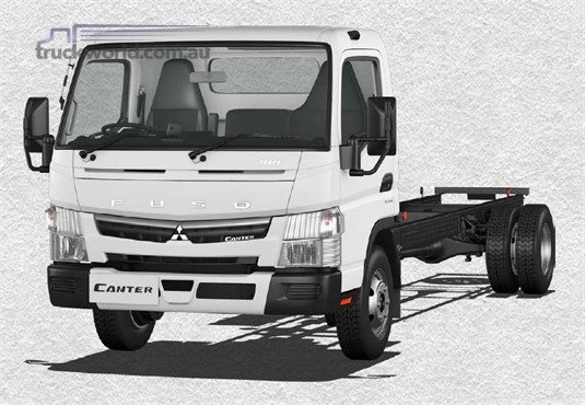 Fuso Canter 4x2 918 Wide Cab XXLWB 6 Sp. DCT