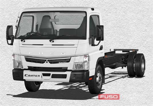 Fuso Canter 4x2 918 Wide Cab XLWB 5 Sp. MAN