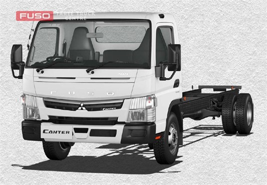 Fuso Canter 4x2 918 Wide Cab XXLWB 5 Sp. MAN