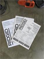 "Ridgid Cordless 1/2"" 2-Drill Kit-"