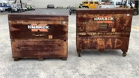 (qty - 2) **Locked** Knaack Storage Master Chests-