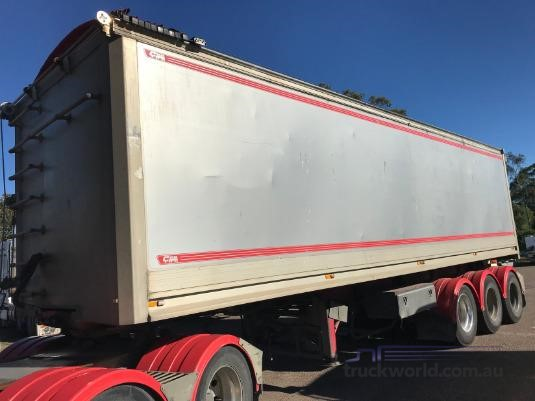 2011 Chris Body Builders Tipper Trailer Coast to Coast Sales & Hire - Trailers for Sale