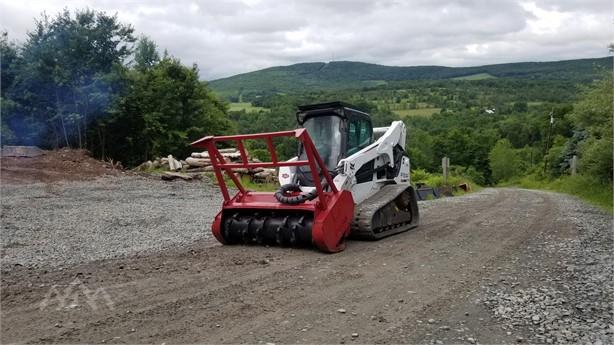 Skid Steer Mulchers Logging Equipment For Sale From R&K
