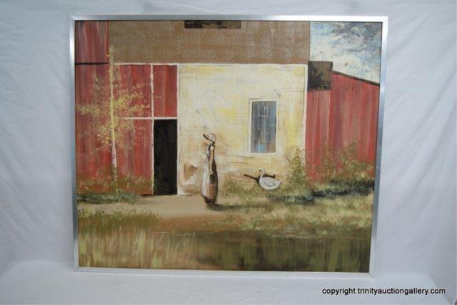 Hillside Original Painting Cien