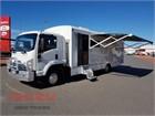 2012 Isuzu FRR 600 Camper Truck