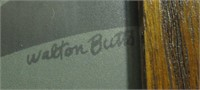 "Art, Serigraph Print ""Clam Diggers"" Walton Butts"