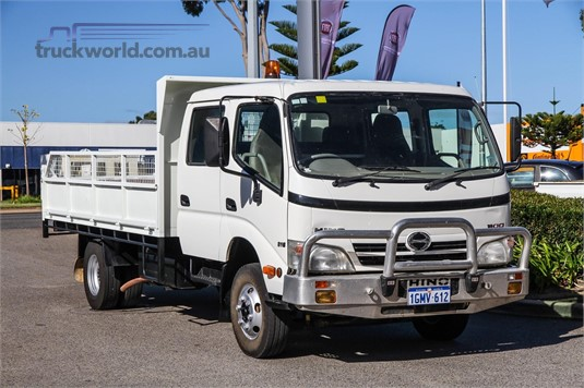 2010 Hino 300 Series 816 Crew WA Hino - Trucks for Sale