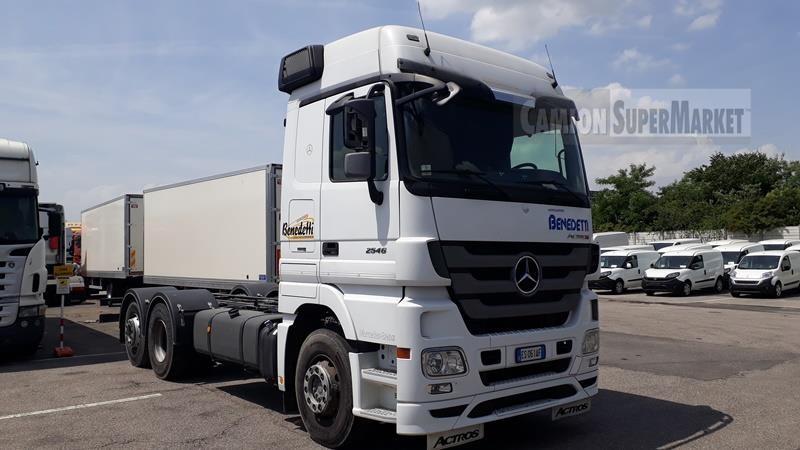 Mercedes-Benz ACTROS 2546 Usato 2013