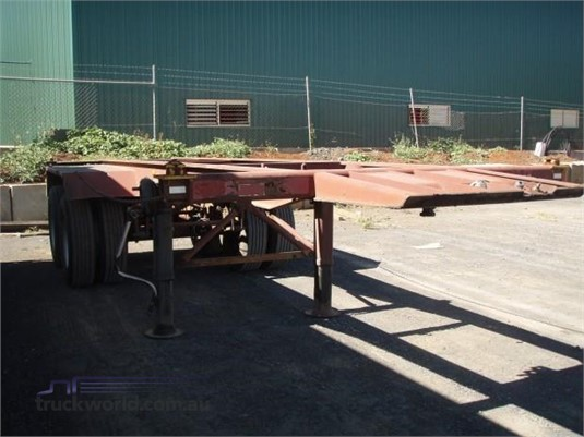 1991 Krueger Skeletal Trailer Trailers for Sale