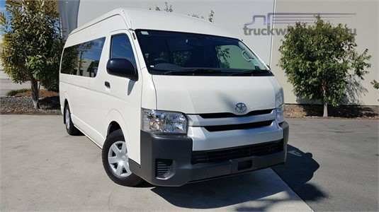 2015 Toyota Hiace Trh223r Commuter High Roof Super Lwb Light Commercial for Sale